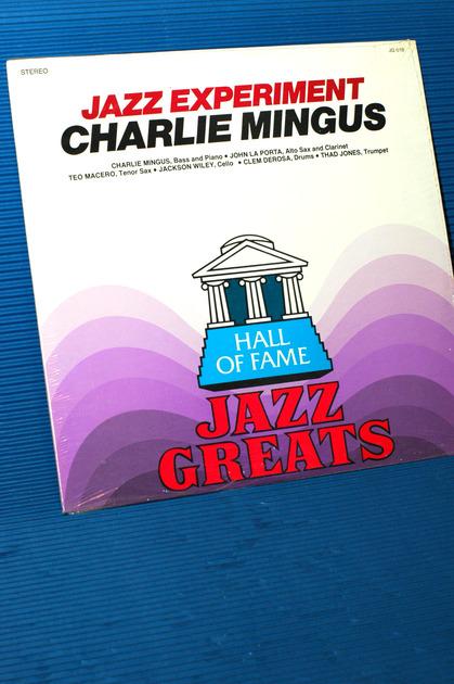 "CHARLIE MINGUS & HIS MODERNISTS -   - ""Jazz Experiment"" - HOF  Sealed"
