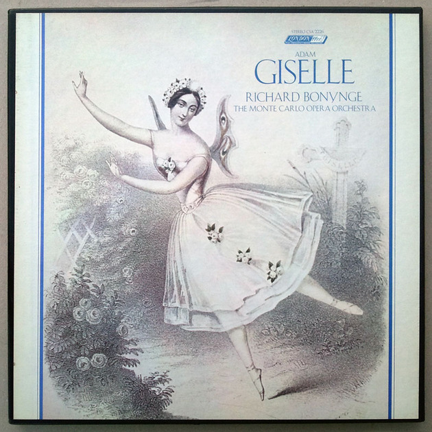 London ffrr/Richard Bonynge/Adam: - Giselle / 2-LP Box Set / NM