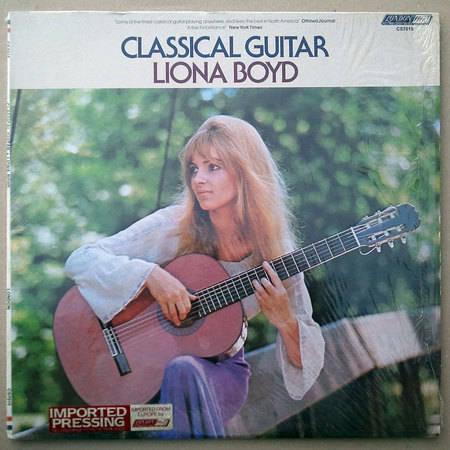 London ffrr/Liona Boyd - - Classical Guitar / NM
