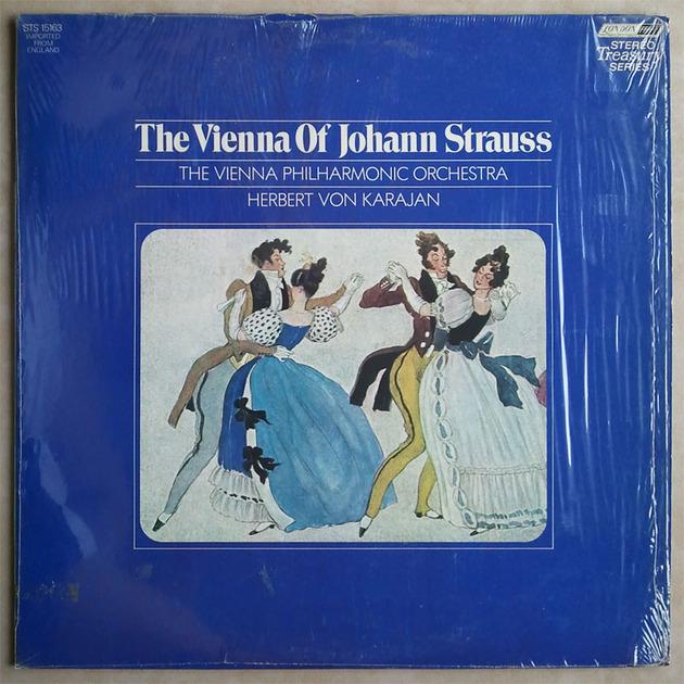London ffrr/Karajan/The - Vienna of Johann Strauss / NM
