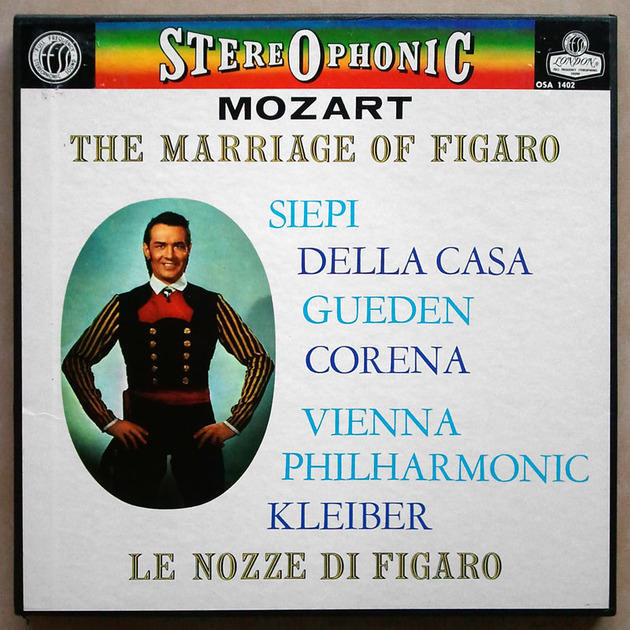 London ffrr/Kleiber/Mozart - Le nozze di Figaro (The Marriage of Figaro) / 4-LP box set / NM
