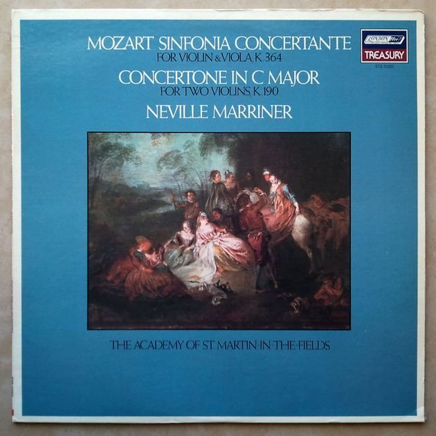 London ffrr/Marriner/Mozart - Sinfonia Concertante KV.364, Concertone KV.190 / NM
