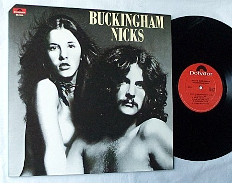 Buckingham Nicks Lp - -rare 1973 polydor album-top condition