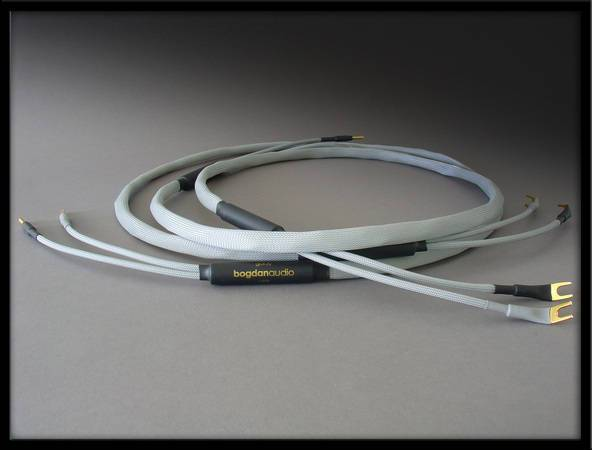 BOGDAN AUDIO 2m Goldy speaker cables