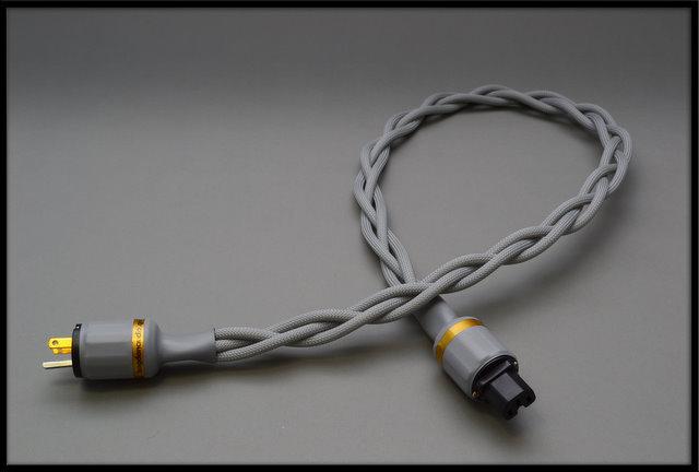 BOGDAN AUDIO 1.2m Goldy  High-Current AC cable