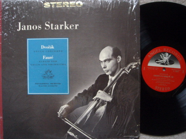 EMI Angel Semi-Circle / JANOS STARKER, - Dvorak Cello Concerto, MINT!