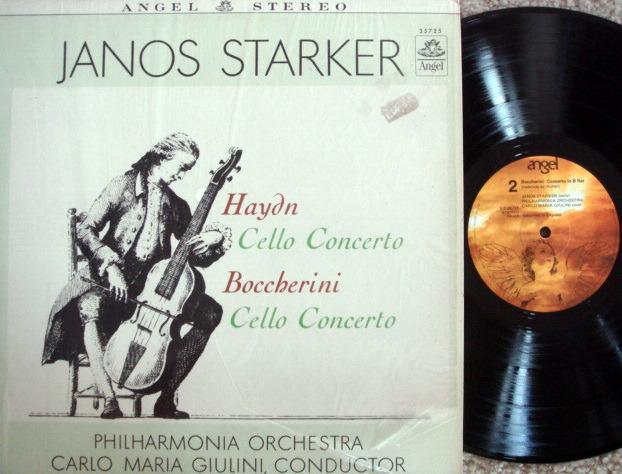 EMI Angel / JANOS STARKER, - Boccherini-Haydn haydn cello concertos, NM!