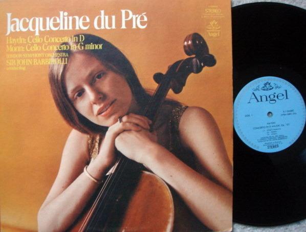 EMI Angel Blue / DU PRE, - Haydn-Monn Cello Concertos, NM!