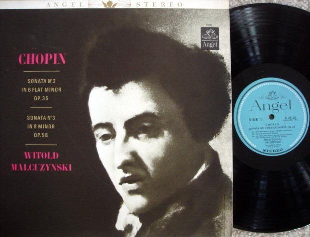 EMI Angel Blue / MALCUZYNSKI, - Chopin Piano Sonatas No.2 & 3, NM!