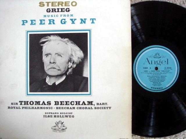 EMI Angel Blue / BEECHAM, - Grieg Peer Gynt, NM!