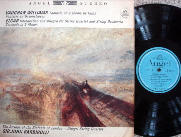 EMI Angel Blue / BARBIROLLI, - Vaughan Williams Greensleeves Fantasia, VG+!