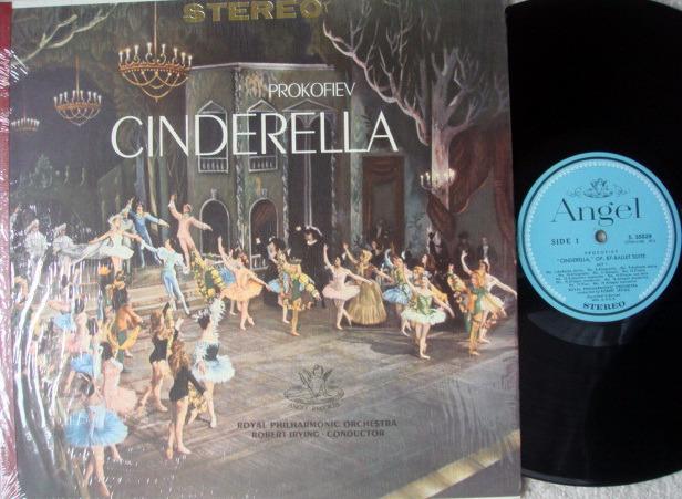 EMI Angel Blue / IRVING, - Prokofiev Cinderella Ballet Suite, MINT!