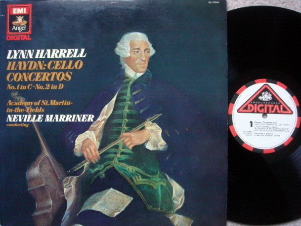 EMI Angel Digital / HARRELL-MARRINER, - Haydn Cello Concertos No.1 & 2, MINT!