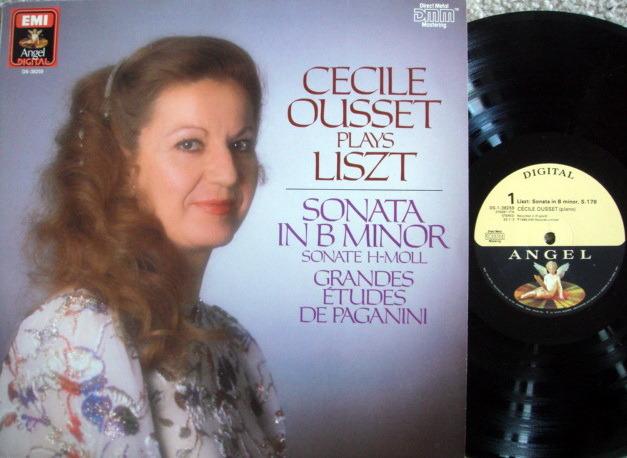 EMI Angel Digital / OUSSET, - Liszt Piano Sonata in B Minor,  MINT!