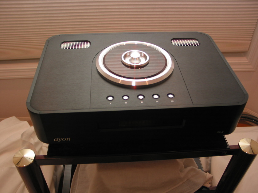 Ayon CD-2 pristine tube based CD player - amazing sound