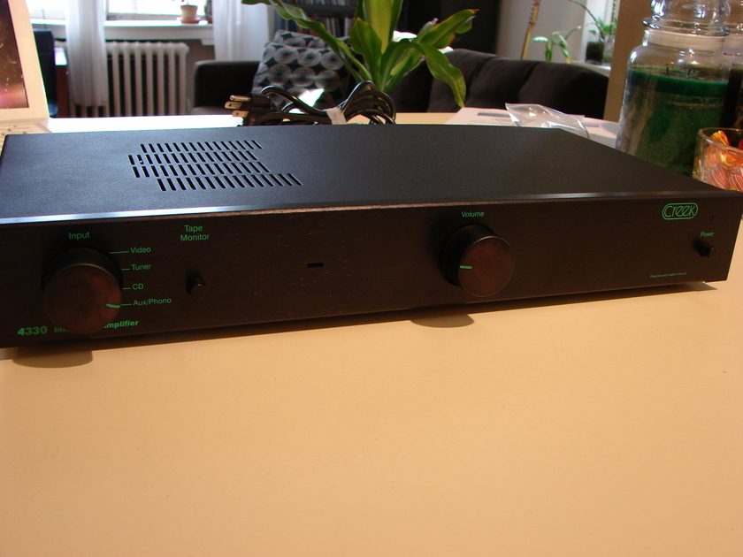 """Creek  4330 """"Stereophile budget component of the year"""""""