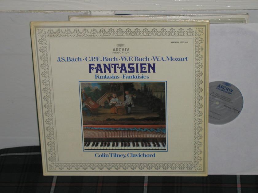 Colin Tilney - Bach/Mozart Archiv 2533 326 metallic