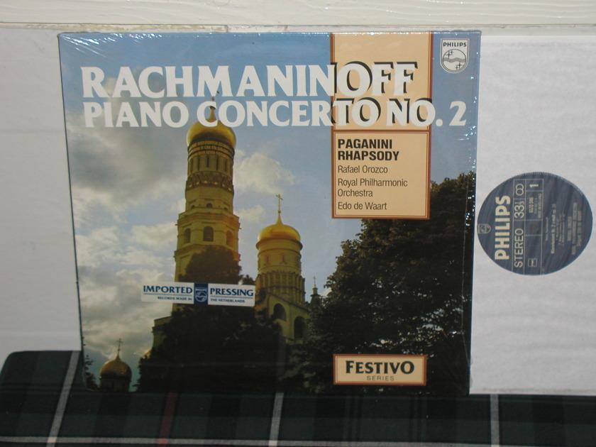 Orozco/De Waart/RPO - Rachmaninoff Cto 1 Philips Import Pressing 9500