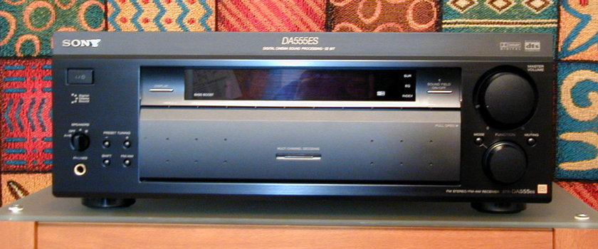 Awesome sounding Sony ES Receiver! Sony STR 555ES Receiver! Great in 2-channel mode too!