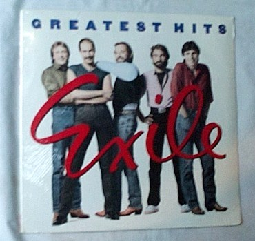 Exile Lp-Greatest - hits-great sealed epic album