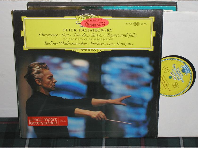 Von Karajan/BPO - Tchaikovsky 1812  LP DGG German Tulip label