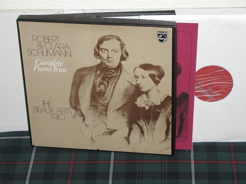 Beaux Arts Trio - Schumann Trios Philips import  6880 2lp boxset