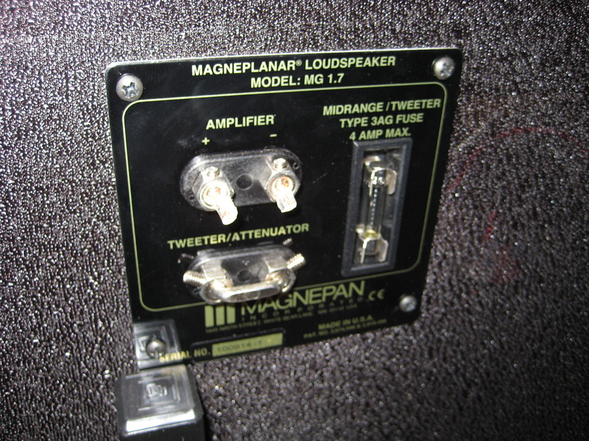 Magnepan Speakers 1.7 Outstanding sound & condition