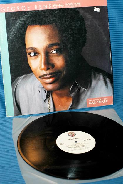 "GEORGE BENSON -  - ""Inside Love"" -  Warner Bros. 45rpm Maxi Single 1983"