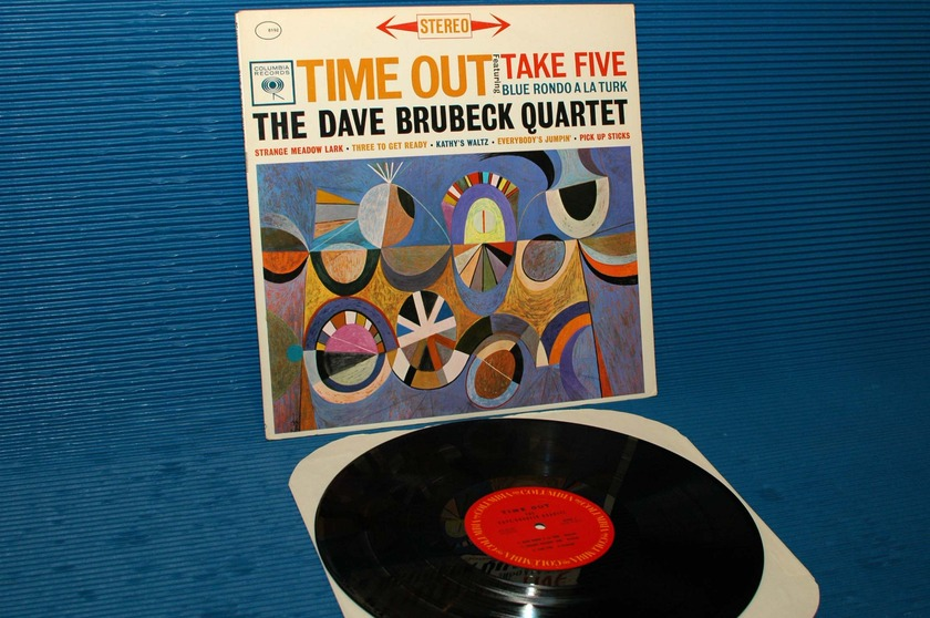 "DAVE BRUBECK QUARTET - - ""Time Out"" - CBS 1970"
