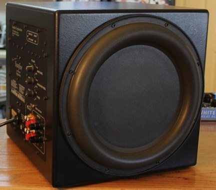 """BEAUTIFUL SUNFIRE TRUE SUBWOOFER SIGNATURE 13"""" CUBE 2700 WATTS FULLY RECONDITIONED BY RITA AT CARVERS REPAIR SHOP!"""
