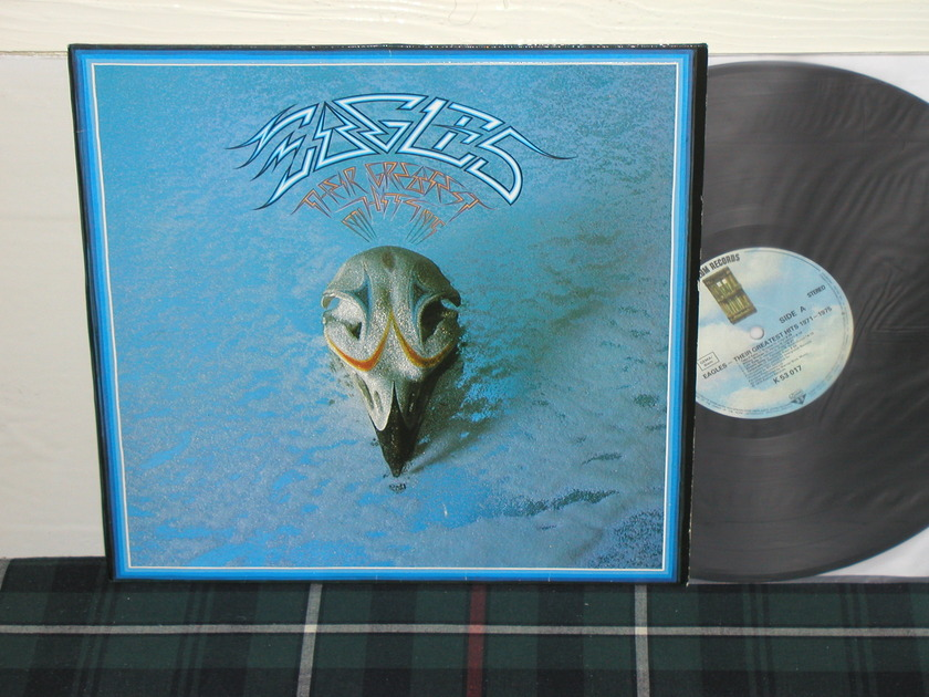 The Eagles - Greatest Hits GERMAN import w/edged cover