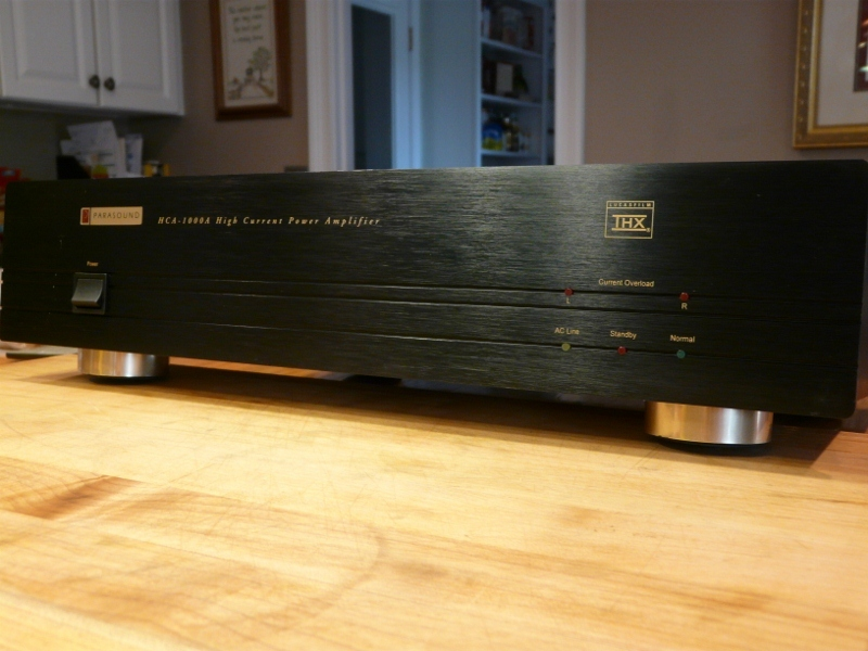 Parasound Amp & Preamp Amp HCA 1000/ Pre PHP 850  Great combination
