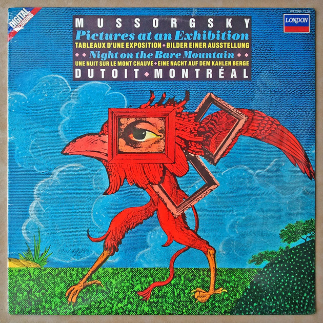 SEALED/London Digital/Dutoit/Mussorgsky - Night on Bald Mountain, Pictures at an Exhibition