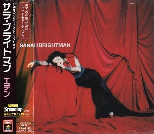 Sarah Brightman - Eden (Japan 1st Edition,  OBI, TOCP-65163)