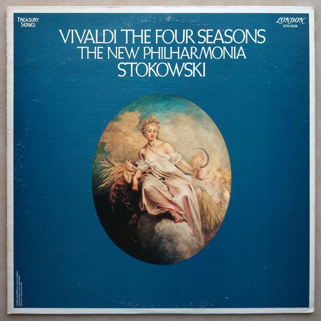 London ffrr/Stokowski/Vivaldi - The Four Seasons / EX