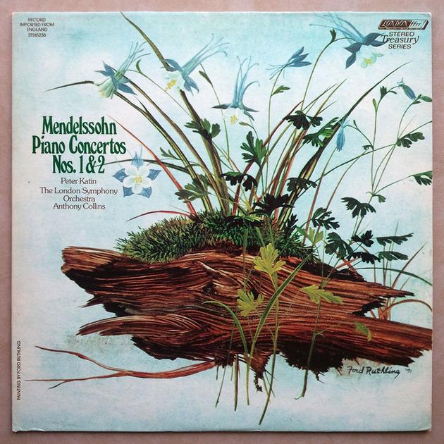London ffrr/Peter Katin/Anthony Collins/Mendelssohn - Piano Concertos Nos. 1 & 2 / NM