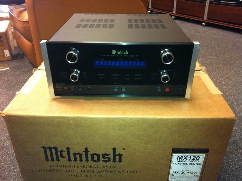 McIntosh AV Pre-amp MX-120 Demo unit, original packaging
