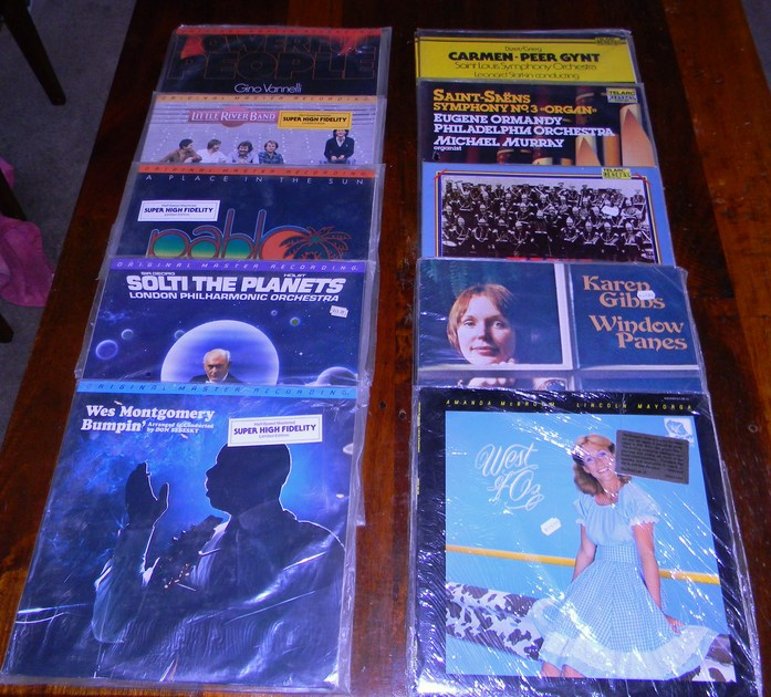 Sealed Digital LP Collection - Various Artists