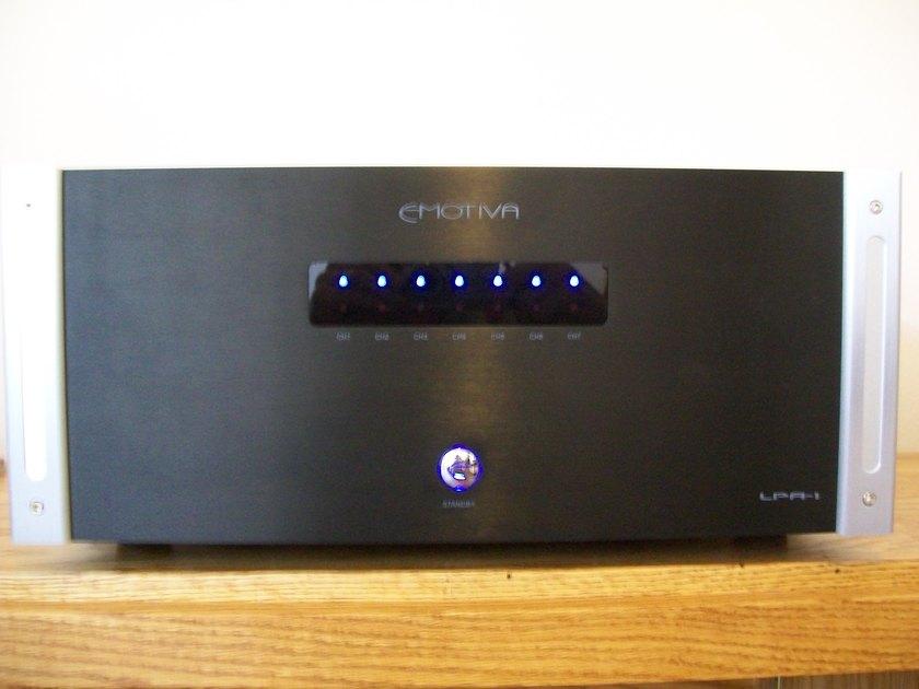 Emotiva LPA-1  7 channel amp