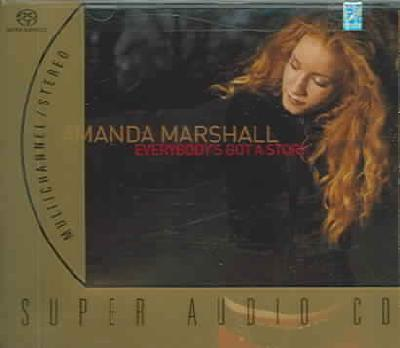 Amanda Marshall - Everybodys Got A Story SACD NEW Multichannel Super Audio CD