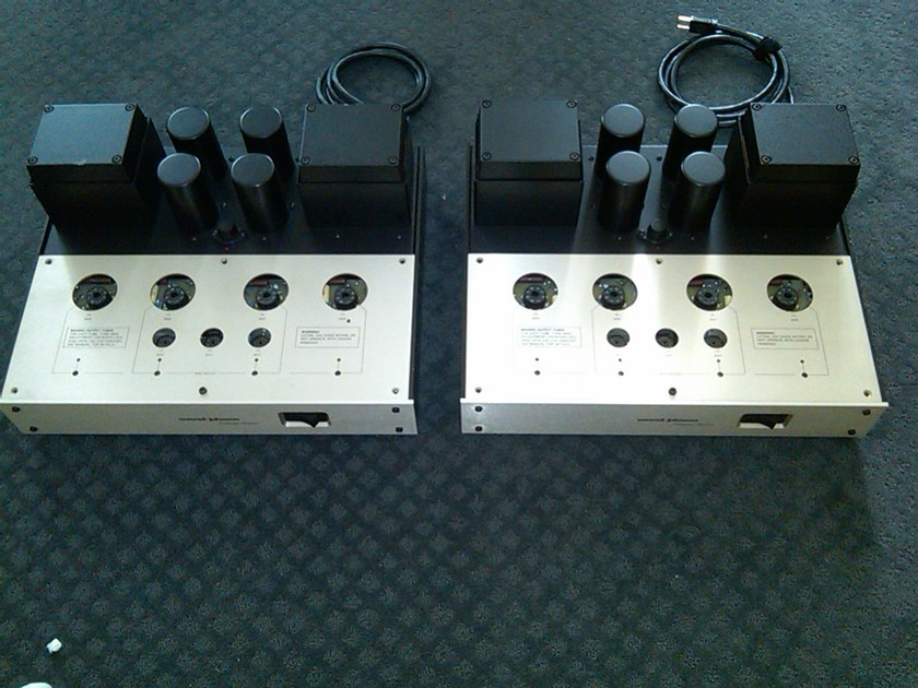 Conrad Johnson Premier 12 Monoblocks With Teflon Cap Upgrade by CJ