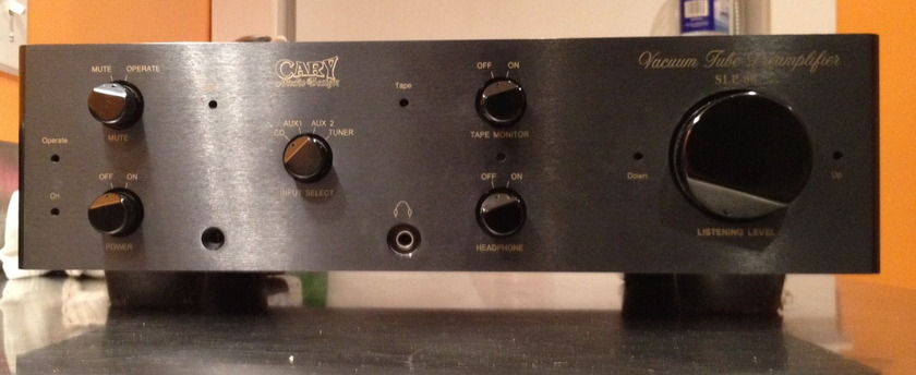 Cary Audio Design SLP-88  Tube Pre-Amp with Headphone Amp