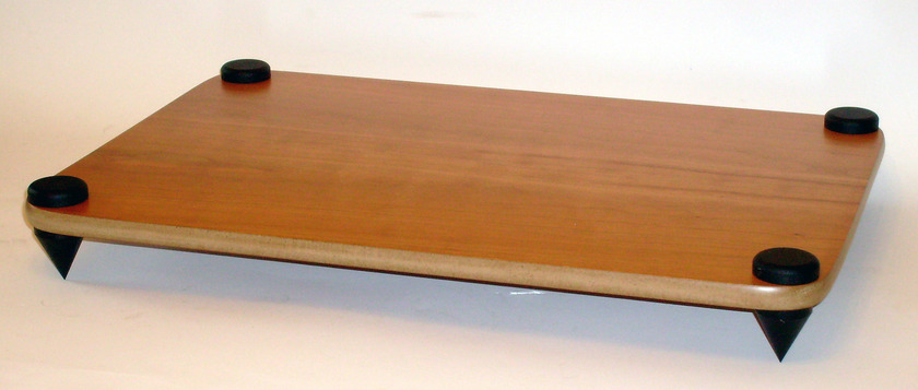 Target Wood Amplifier Stand Reversible Cherry finish & Maple finish, new