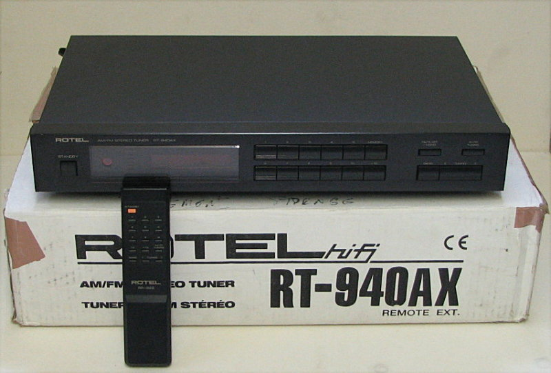 Rotel RT-940AX with Box & Remote