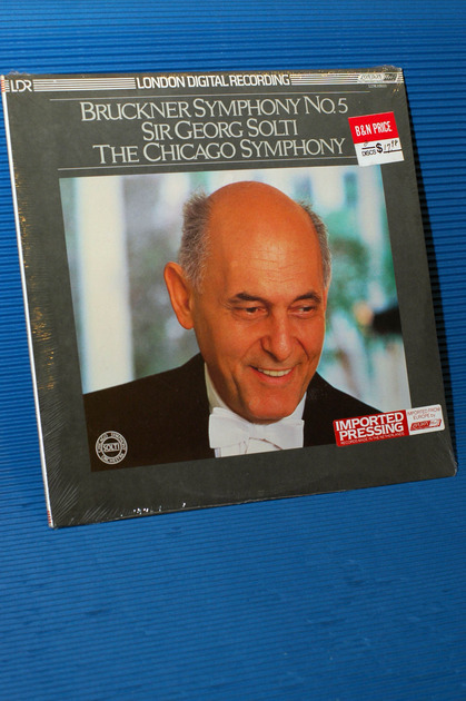 "BRUCKNER/Solti - - ""Symphony No 5"" - London Import Sealed"