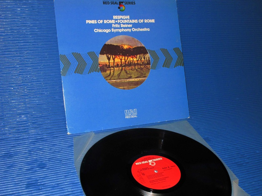 """RESPIGHI/Reiner - - """"Pines of Rome - Fountains of Rome"""" -   RCA .5 Series 1981 promo Audiophile"""