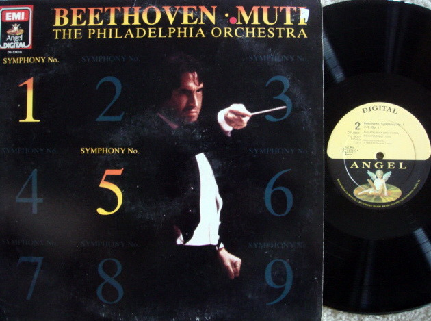 EMI Angel Digital / MUTI, - Beethoven Symphonies No.1 & 5,  MINT!