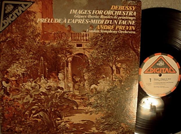 EMI Angel Digital / PREVIN,  - Debussy Images for Orchestra,  MINT!