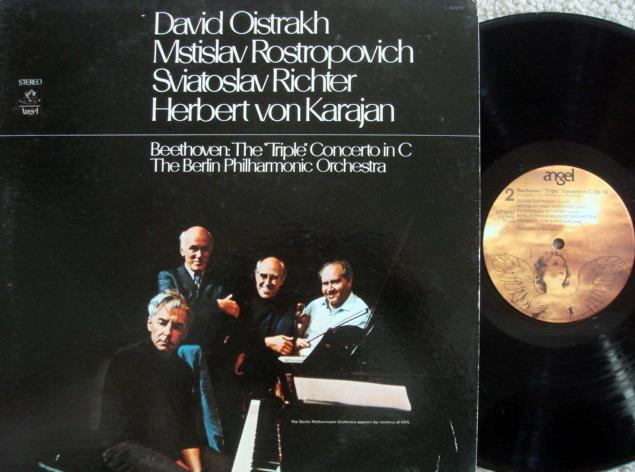 EMI Angel / OISTRAKH-ROSTROPOVICH-RICHTER, - Beethoven Triple Concerto, NM!