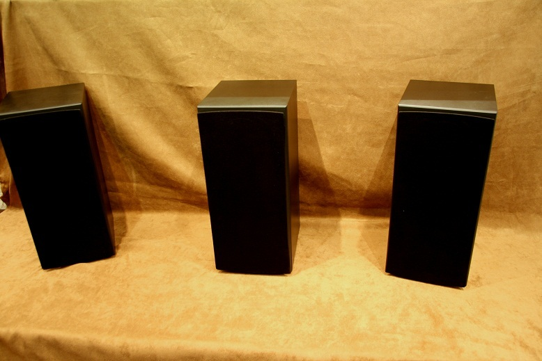 Triad  Silver LCR Bookshelf  Black Finish